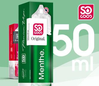 Découvrez la marque So Good en 50Ml
